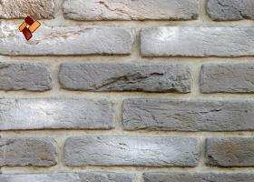 Manufactured facing stone Aged Brick	item 09