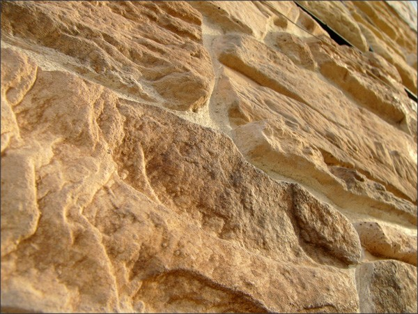 Manufactured facing stone veneer Alpine Village