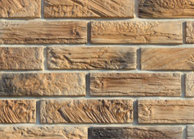 "Decorative artificial stone ""WOOD BRICK""t by the company ""Art-Kamen"" (Kazan)"