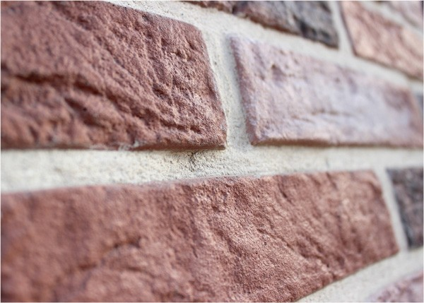 "The facing decorative stone ""Small brick"""