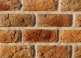 "Decorative artificial stone ""ROMAN BRICK&quot by the company ""Art-Kamen"" (Kazan)"