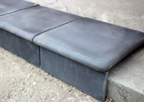 "Decorative artificial CONCRETE STEPS  by the company ""Art-Kamen"" (Kazan)"