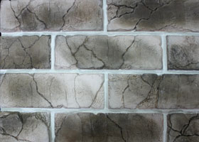 "Decorative facing stone ""Teutonic brick"""